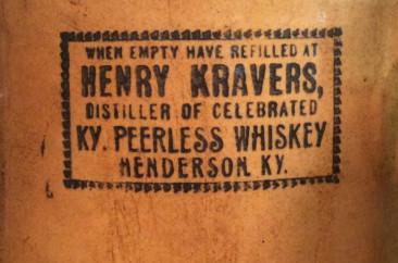 H. Kraver, Liquor Jug, circa 1900