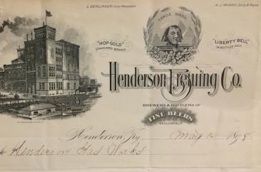 Henderson Brewing, circa 1910