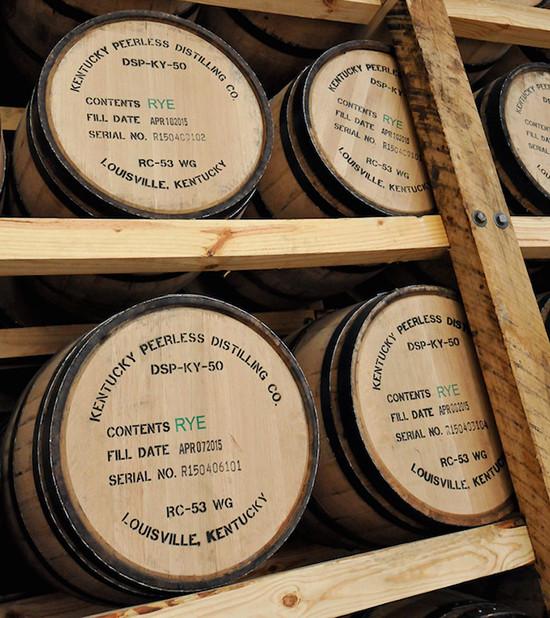 Peerless bourbon barrels