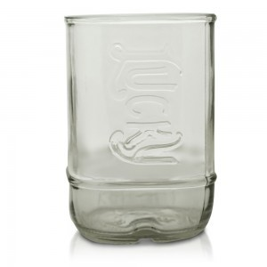 Lucky Moonshine Bottle Glass