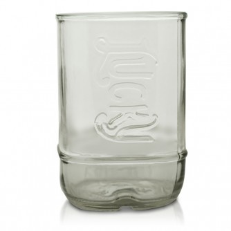 Lucky Kentucky Moonshine Bottle Glass