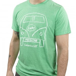 VW Lucky Moonshine Tee in Light Green