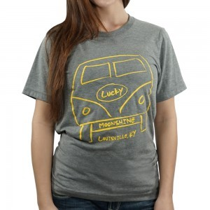 VW Lucky Moonshine Tee in Light Gray