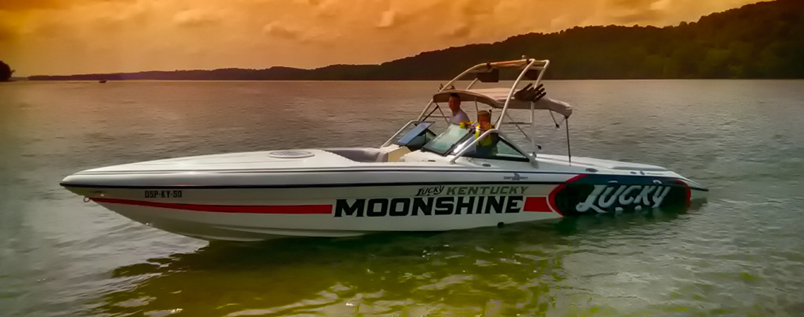 Lucky Moonshine Boat