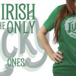 lucky moonshine green t shirt