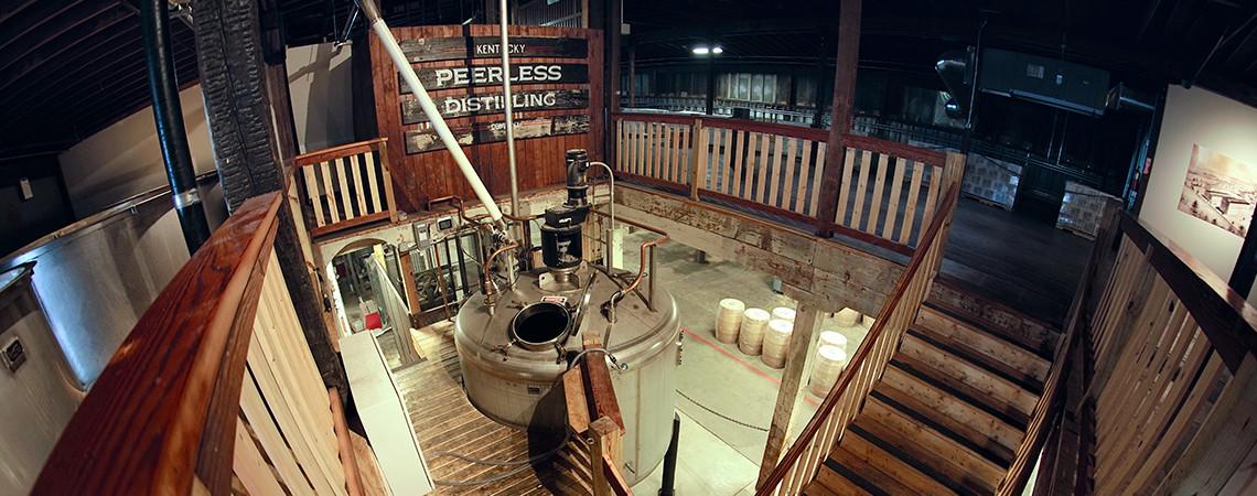 Lucky Kentucky Moonshine Distillery Kentucky Peerless Distilling Co.