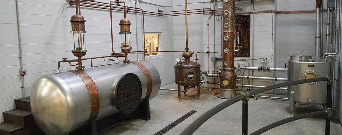 Visit the Lucky Moonshine Distillery Kentucky Peerless Distilling Co.